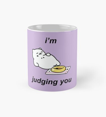 Neko Atsume - Tubbs (i'm judging you) Mug