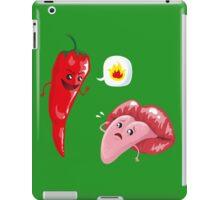 Chili and tongue iPad Case/Skin