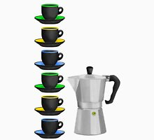 Moka Pot Stove Top Espresso Maker Unisex T-Shirt