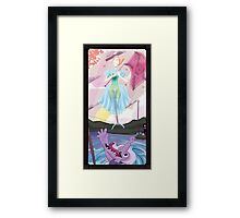 Haunted Universe - The Ballerina and THE CROCODIIILE Framed Print