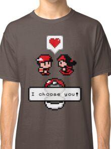Pokemon Valentine I Choose You!  Classic T-Shirt
