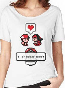 Pokemon Valentine I Choose You!  Women's Relaxed Fit T-Shirt