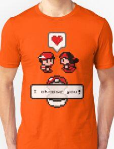 Pokemon Valentine I Choose You!  T-Shirt
