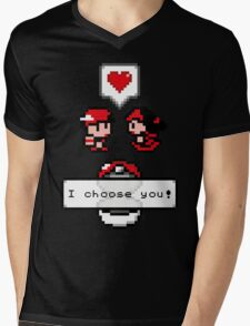 Pokemon Valentine I Choose You!  Mens V-Neck T-Shirt