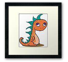 Little Monster Framed Print