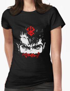 Guts from Berserk Womens Fitted T-Shirt