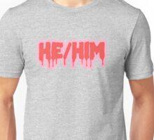 He/Him Unisex T-Shirt