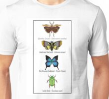 Insect Taxidermy Unisex T-Shirt