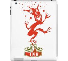 Red Ink Bottle Imp iPad Case/Skin