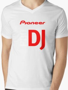 Pioneer Pro DJ Let's Party Like It's Steve Aoki Tis Tis Tis But A Scratch Daft Nuts Mens V-Neck T-Shirt