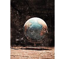 This is my world, show me yours.... Photographic Print