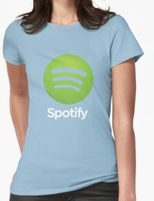 Napster (Original) Spotify Home Is Where The Wifi Is Not Listening Womens Fitted T-Shirt