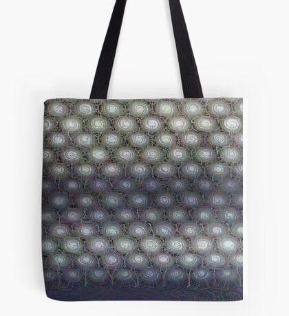 Hexagon mesh 3 - Phlox Tote Bag
