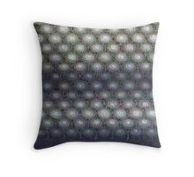 Hexagon mesh 3 - Phlox Throw Pillow