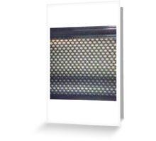 Hexagon mesh 3 - Phlox Greeting Card