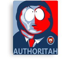 Respect my Authoritah Canvas Print