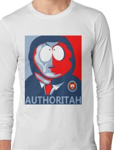Respect my Authoritah Long Sleeve T-Shirt