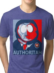 Respect my Authoritah Tri-blend T-Shirt