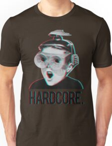 Hardcore Meme Boy (3D vintage effect) Unisex T-Shirt