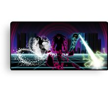 THE THREE FATES OF A WICKED CITY Canvas Print