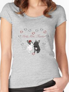 mr.&mrs. Farter Women's Fitted Scoop T-Shirt
