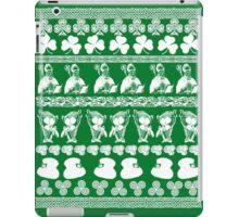 Ugly Irish Sweater for St Patricks Day iPad Case/Skin