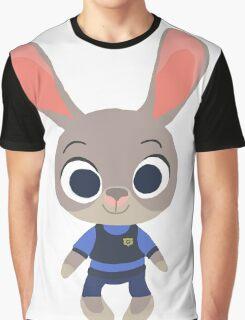 Judy Hopps: Zootopia! Graphic T-Shirt