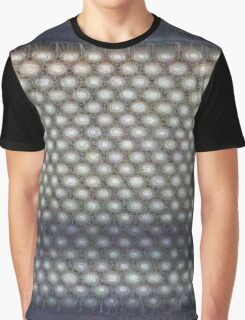 Hexagon mesh 3 - Phlox Graphic T-Shirt