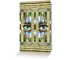 Surrealist Temple of Love Petit Trianon Versailles Paris Greeting Card