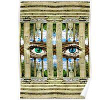 Surrealist Temple of Love Petit Trianon Versailles Paris Poster