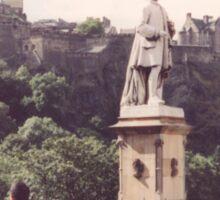 Classic Architecture, Statue, Edinburgh, Scotland Sticker