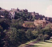 Classic Architecture, Colorful Edinburgh, Scotland Sticker
