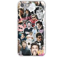 Patrick Dempsey WITH COFFEE iPhone Case/Skin