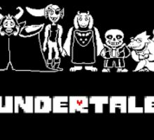 Undertale stickers, prints, cards, & posters Sticker