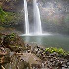 Fantasy Island Falls - Kauai by Michael Treloar