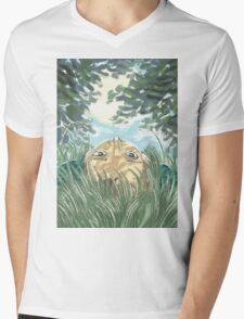 lying in the grass Mens V-Neck T-Shirt