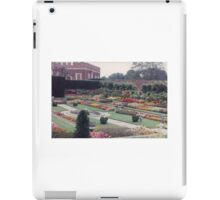 Colorful British Garden, United Kingdom iPad Case/Skin