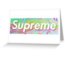 Supreme Oil Spill Greeting Card