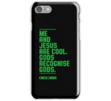 McGregor - Jesus Quote [G] iPhone Case/Skin