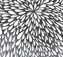 blossom (grey) Sticker
