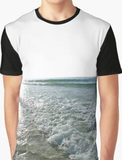 Playful Waves Graphic T-Shirt