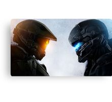 Halo 5 Epic Art Poster Canvas Print