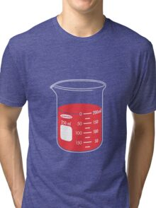 beaker elixir (strawberry) Tri-blend T-Shirt