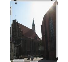 Riga Street Scene 2 iPad Case/Skin
