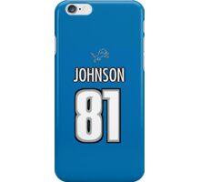 Calvin Johnson Jersey iPhone Case/Skin