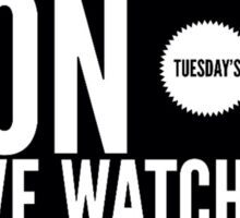 On Tuesday's we watch the Dolan twins Sticker