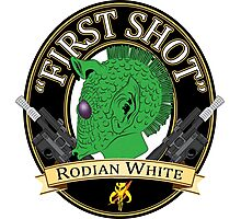 First Shot Rodian White Ale Photographic Print