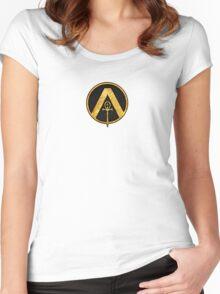 Austin Osiris Logo Women's Fitted Scoop T-Shirt