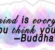 Buddha Quote 2 Sticker