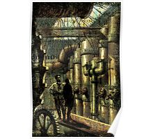 Nautilus Engine Room - by Landron Artifacts Poster